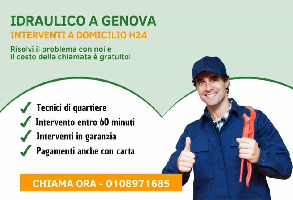 Idraulico Genova - slider mobile