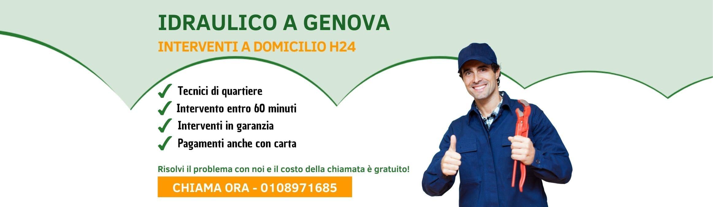 Idraulico Genova - Pronto Intervento Idraulico h24
